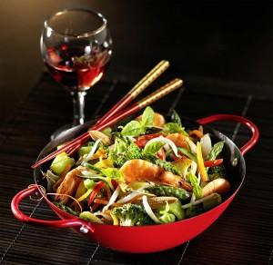 Photographie d'une recette de wok