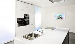 Showroom cuisine au studio Guy Renaux