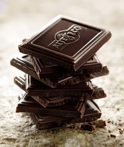 Morceau de chocolat pour Alter eco