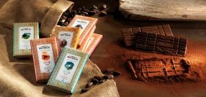 Tablette de chocolat pour le comptoir de Mathilde