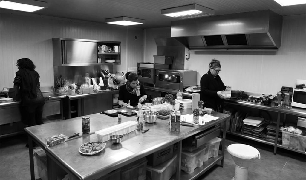 Cuisine au studio Guy Renaux